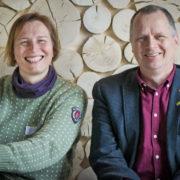 Karina og Jon er MDG sine stortingskandidater i Innlandet